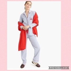 J. Crew Joy Striped Pajama Set